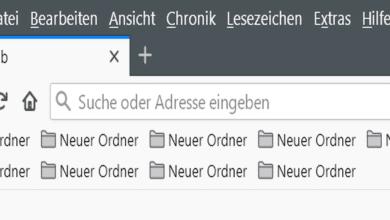 Bild von Firefox 80 – Mehrreihige Lesezeichen-Symbolleiste