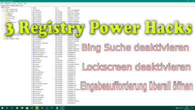 Bild von 3 Power Hacks für Windows