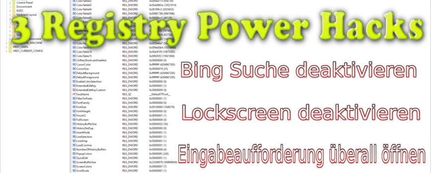 Photo of 3 Power Hacks für Windows