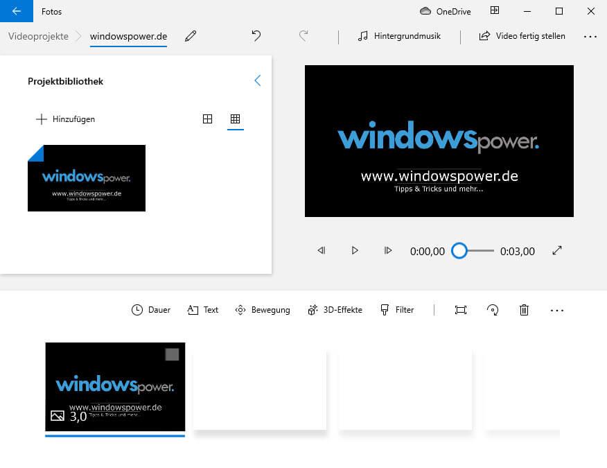video editor windows 10