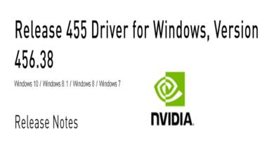 Photo of Nvidia GeForce Treiber Version 456.38