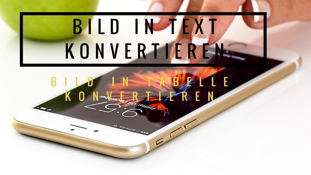 Bild-in-Text-konvertieren