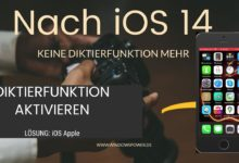 Photo of Diktierfunktion bei IOs 14 wieder aktiveren