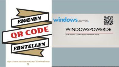 Bild von Eigenen QR Code erstellen mit Powerpoint