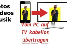Photo of Fotos, Videos vom PC auf TV kabellos übertragen