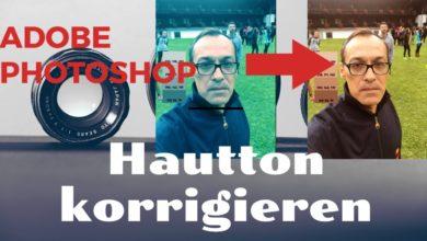 Bild von Hautton korrigieren in 2 Minuten – Adobe Photoshop