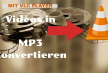 Photo of Video in MP3 konvertieren ——- VLC
