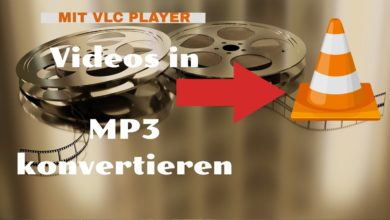 Photo of Video in MP3 konvertieren ——- VLC