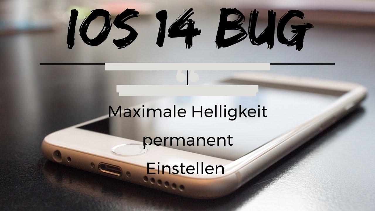 iOs-14-Bug-Maximale-Helligkeit-permanent-Einstellen