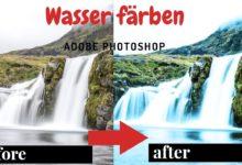 Bild von Adobe Photoshop – Wasser färben