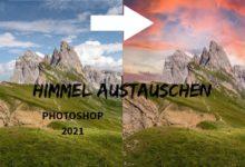 Bild von Himmel austauschen Photoshop 2021
