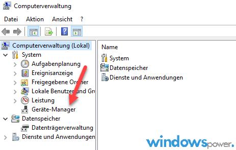 computerverwaltung bei windows 10