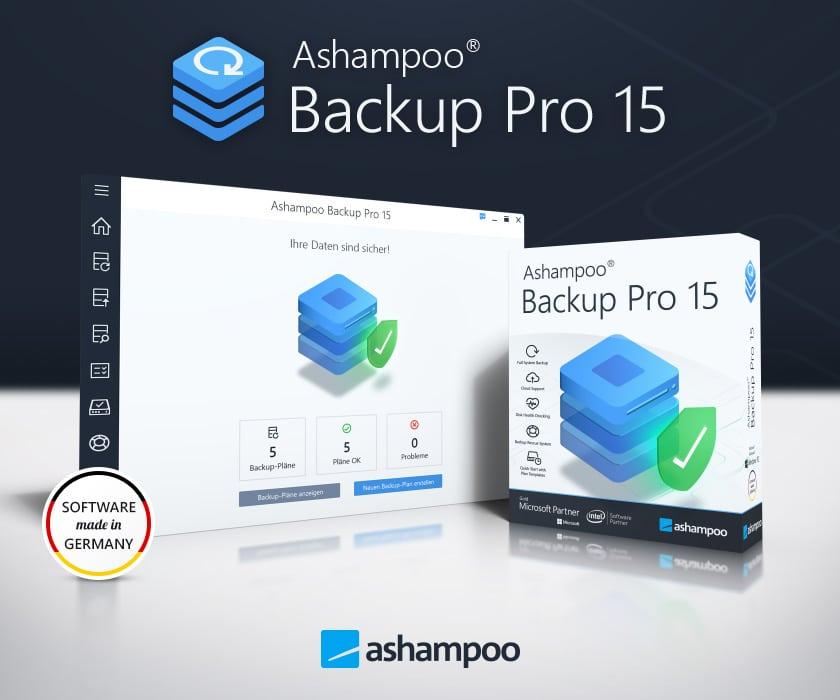 Ashampoo Backup Pro 15 programm