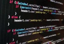 Bild von Software und ihr Quelltext