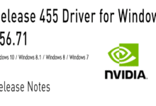 Photo of Nvidia GeForce Treiber Version 456.71