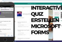 Bild von Interactives Quiz erstellen – Microsoft Forms