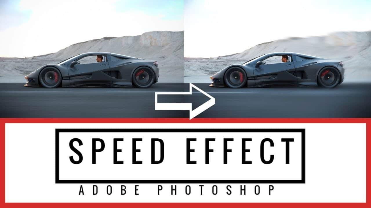 Speed Effect Geschwindigkeits Effekt Photoshop