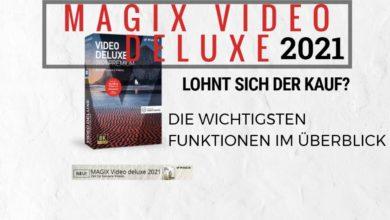 MAGIX Video deluxe 2021 Premium Uebersicht