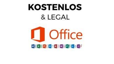 Microsoft Office kostenlos amp legal
