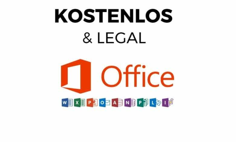 Microsoft Office kostenlos amp legal