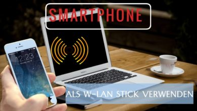 Smartphone als W Lan Stick AndroidiOS