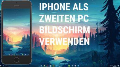iphone als zweiten pc bildschirm verwenden
