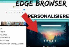 Edge Browser Personalisieren Startseite Downloads Erweiterungen