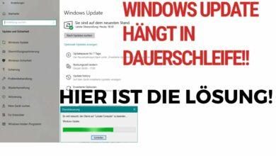 Windows Update haengt in Dauerschleife Hier ist die Loesung