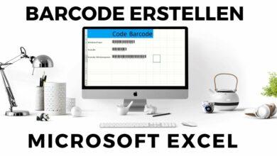 Barcode erstellen mit Excel