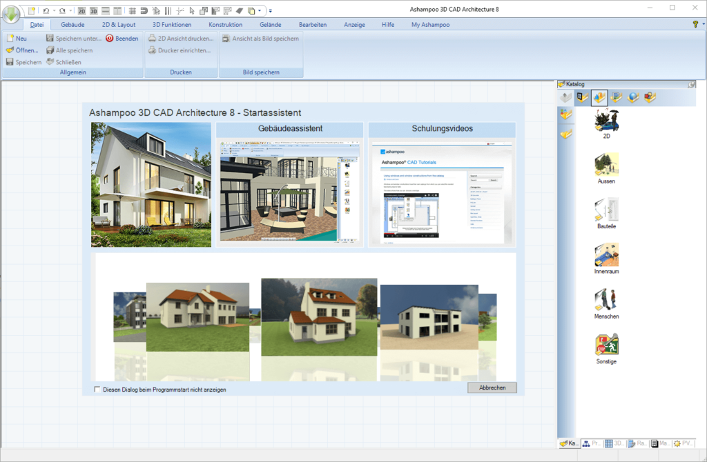 scr ashampoo 3d cad architecture 8 start