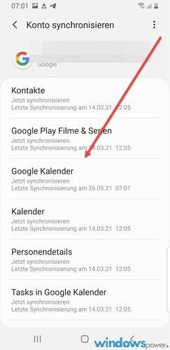 windows 10 kalender mit android smartphone synchronisieren