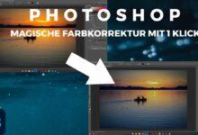 Adobe Photoshop Magical Color Correction in 1 Click