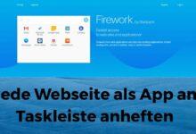 Pin each website as an app to the taskbar