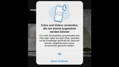 whatsapp fotos videos einmal angesehen