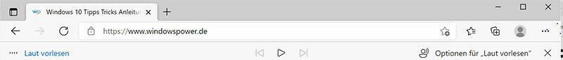 microsoft edge browser vorlesen