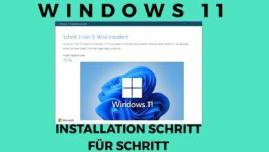 Windows 10 Upgrade auf Windows 11 Schritt fuer Schritt
