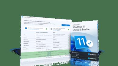 submitting screen ashampoo windows 11 check enable 1